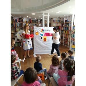 PREMIERA – Spectacol bilingv romana-engleza pentru copii, cu forme si culori