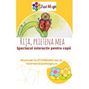 Spectacol interactiv pentru copii despre PRIETENIE